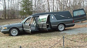Own the Dale Earnhardt hearse for just $1.5 million