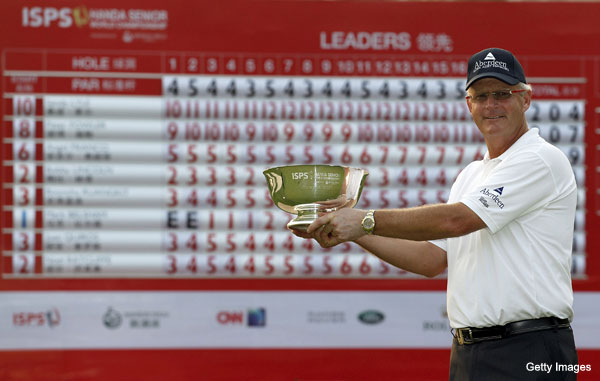 Sandy Lyle wins for the first time in nearly two decades