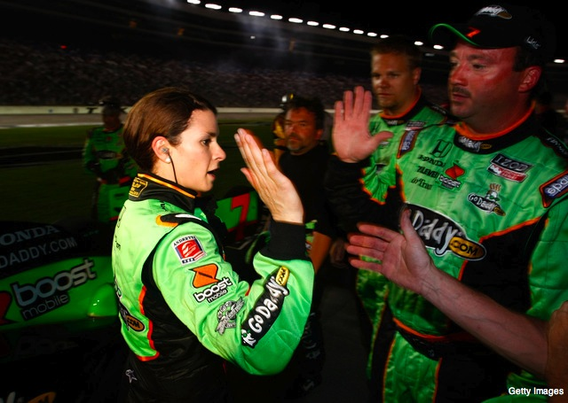 Ryan Briscoe wins at Texas, but Danica Patrick is the big story