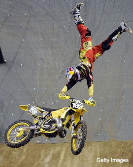 Travis Pastrana confident of his four-wheeling abilities
