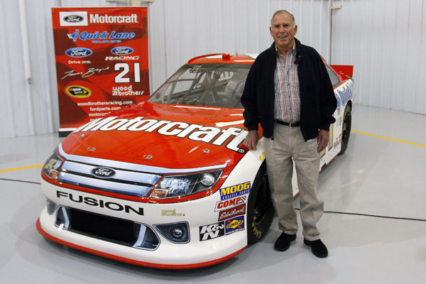 Wood Brothers to honor David Pearson with 2011 ride
