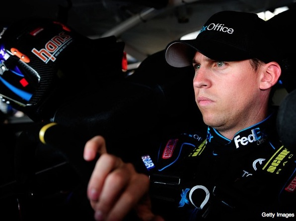 Denny Hamlin explains why he thinks he got fined