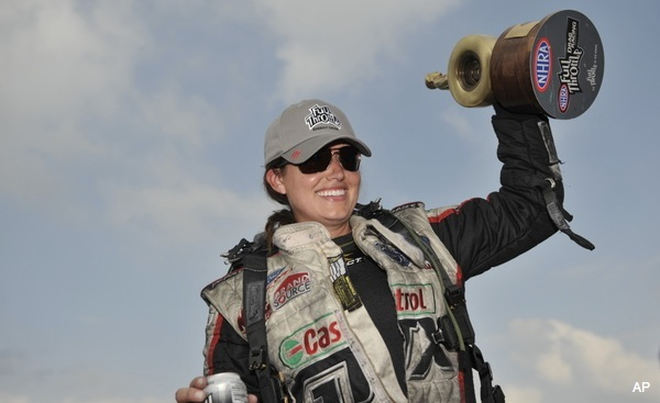 Ashley Force Hood to miss NHRA season because of pregnancy