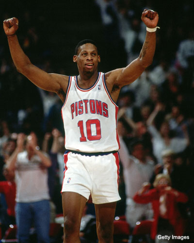 Pistons to retire Dennis Rodman's number, acquire new owner?
