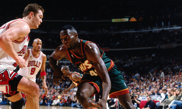 How Shawn Kemp was nearly a Bull