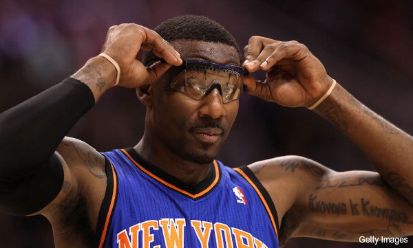 Days of NBA Lives: Wherein Amar'e Stoudemire advises young women