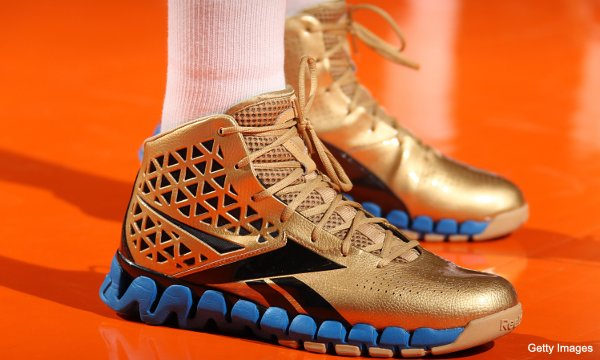 What They're Wearing: John Wall's 'Gold Rush' kicks