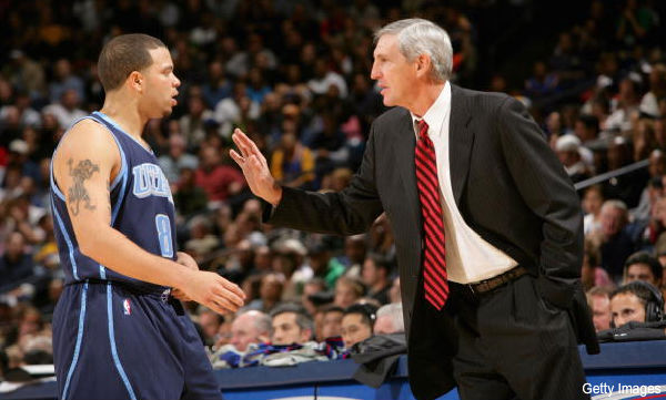Jerry Sloan and Deron Williams talk to SLC-area radio, separately