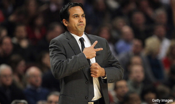 Erik Spoelstra uses pie charts to teach the Heat