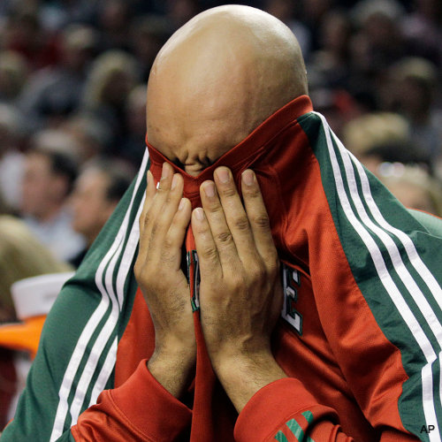 Create-a-Caption: Drew Gooden's peek-a-boo game is legendary
