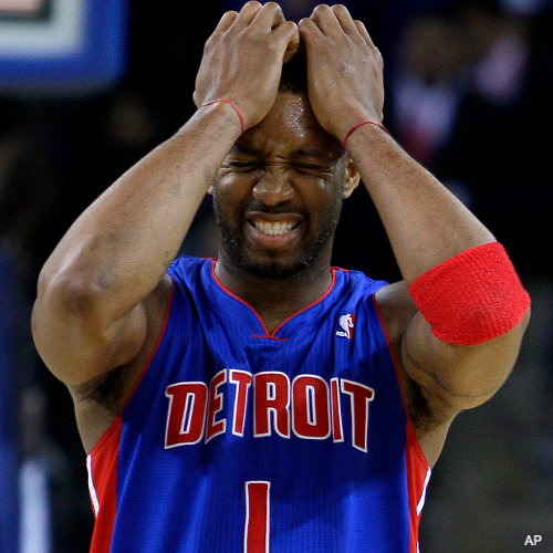 Create-a-Caption: Tracy McGrady's brain hurts so bad