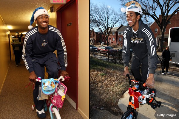 Sweet bikes, John Wall and Nick Young