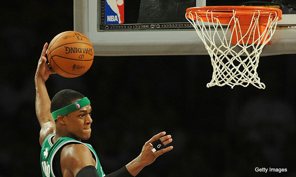Putting Rondo's weak-then-strong triple-double into context