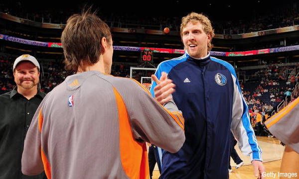 Days of NBA Lives: Wherein Steve Nash gets mad at Dirk