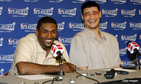 Of course Ron Artest is going to host a stand-up comedy tour
