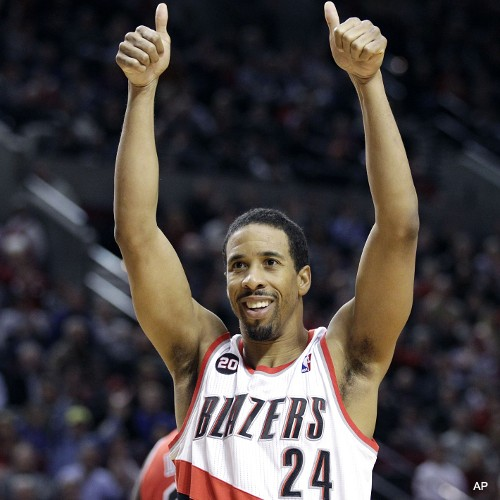 Create-a-Caption: Andre Miller approves of your endeavor