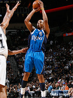 Caron Butler, shooting the Mavs in the foot