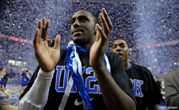 Kentucky's Patrick Patterson surprises blogger with freestyle rap