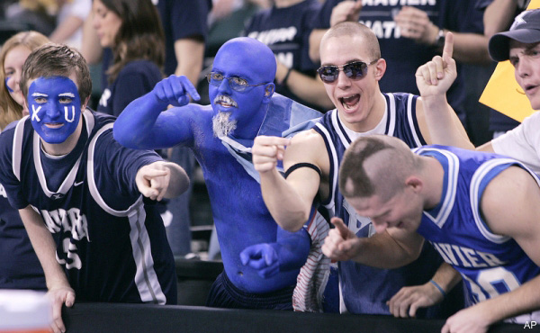 Xavier coach to fans: Midnight curfew so you'll be rested, loud