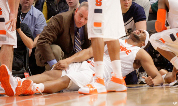 MRI confirms mother's intuition: Syracuse's Onuaku will be fine