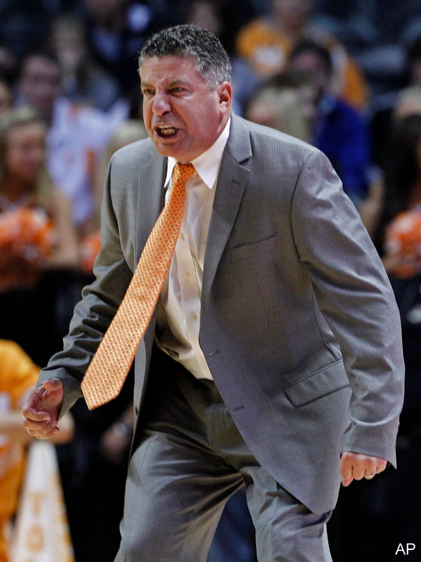 The SEC suspends Tennessee's Bruce Pearl for eight games