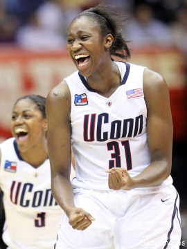 The performance wasn't perfect, but the UConn women still are