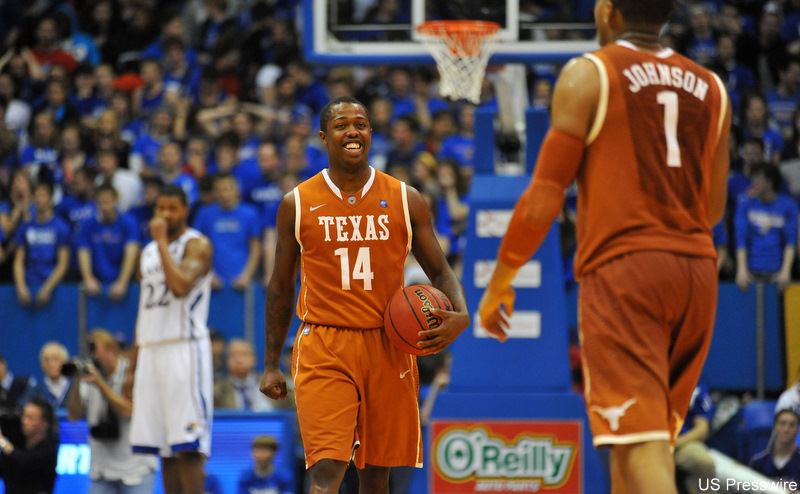 Ending Kansas' home win streak suggests Texas is no mirage