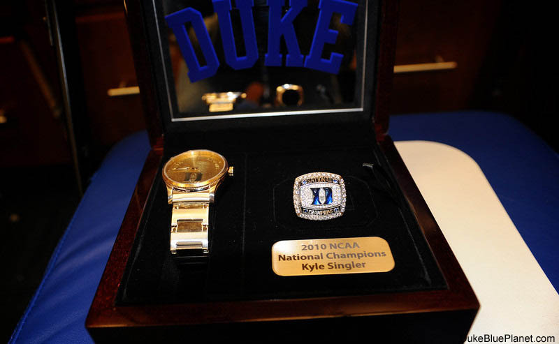 Duke's championship rings are more flashy than functional
