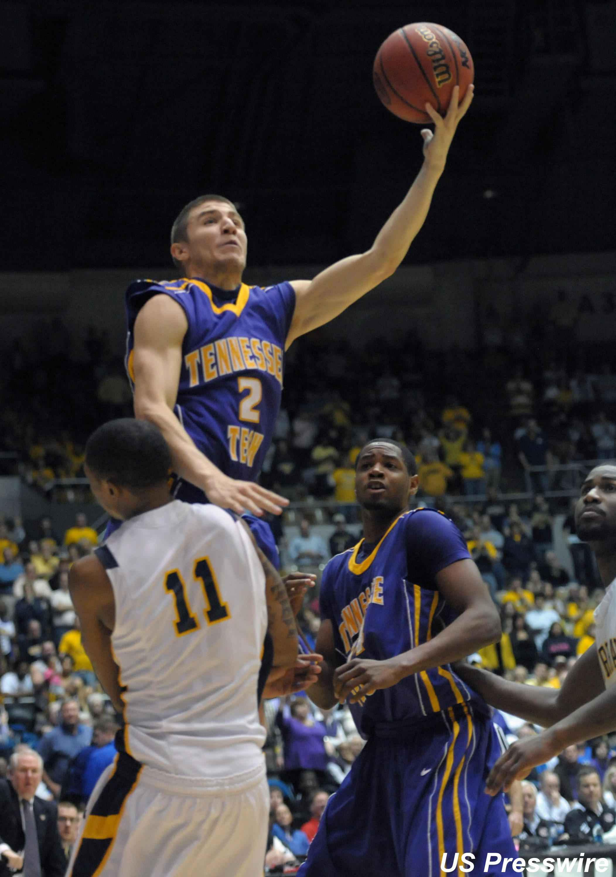 "Tennessee Tech's Swansey lives up to ""Mr. Big Shot"" nickname"