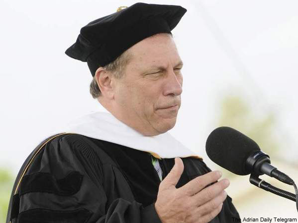 The state of Michigan's other commencement speaker
