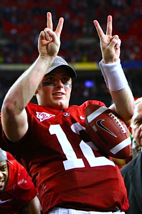 Pasadena Keys: Does 'Bama get the good Greg McElroy, or the bad Greg McElroy?