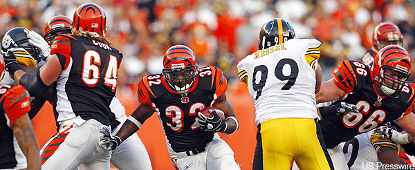 Sunday Spotlight: The Bengals-Steelers inside game