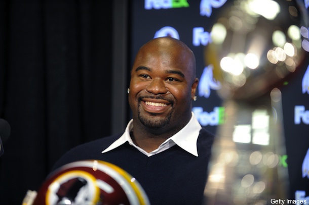Haynesworth didn't deposit his $21 million check right away