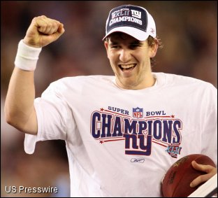 Eli Manning is suddenly marketable enough to be Madden's cover boy