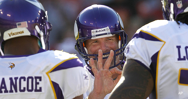 Five Minutes of Greatness: Brett Favre's preseason series in review