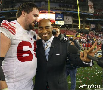 Eli Manning's Super Bowl XLII co-MVP: Tiki Barber