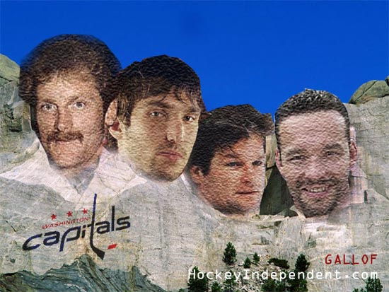 Mount Puckmore: The four faces of the Washington Capitals