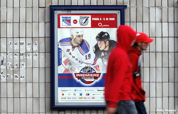 Opening in Europe: Ensuring the NHL's irrelevancy in the U.S