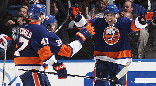 Bourne Blog: Islanders' Blake Comeau on battling through misery