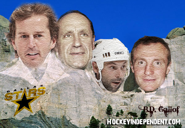 Mount Puckmore: The four faces of the Dallas Stars