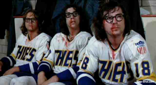 Another 'Slap Shot' sequel, and it's gone all 'Mighty Ducks'