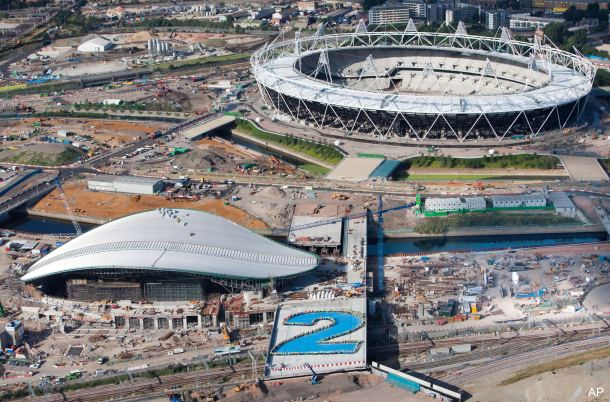 Photos: Olympic venues two years from start of London Games