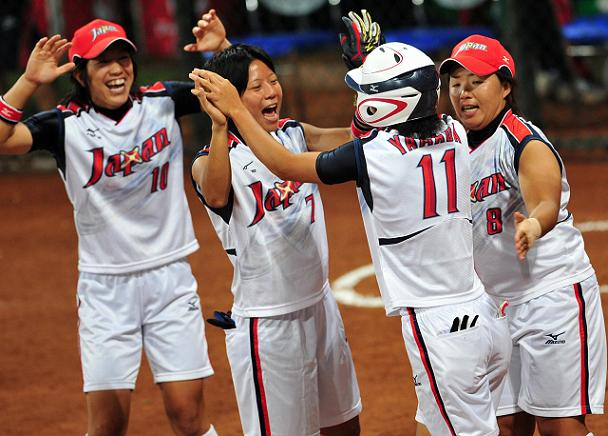 Japan shocks the U.S. for gold in softball