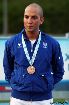 Italian shooter becomes first athlete to qualify for 2012 Olympics