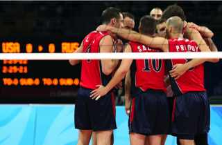 The Medal Stand After Dark: Emotional e-mail lifts U.S. volleyball