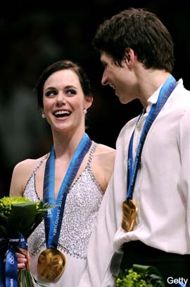 Canadians Virtue and Moir break through, win ice dancing gold