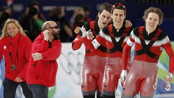 Canadian men pull upset in team pursuit