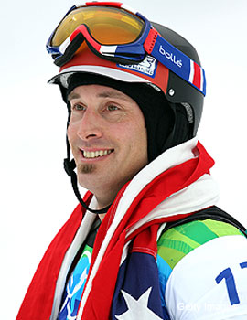 Seth Wescott defends his snowboardcross gold