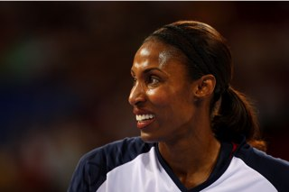 The Medal Stand: Lisa Leslie is on the way to her fourth gold medal