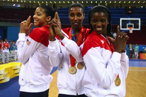 Lisa Leslie and U.S. women's basketball earn Olympic four-peat